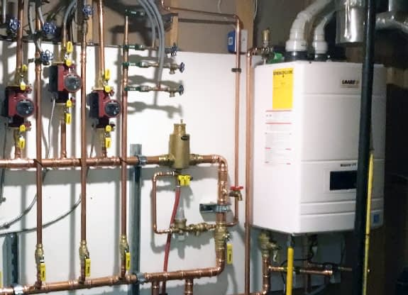 boilers and radiant heating