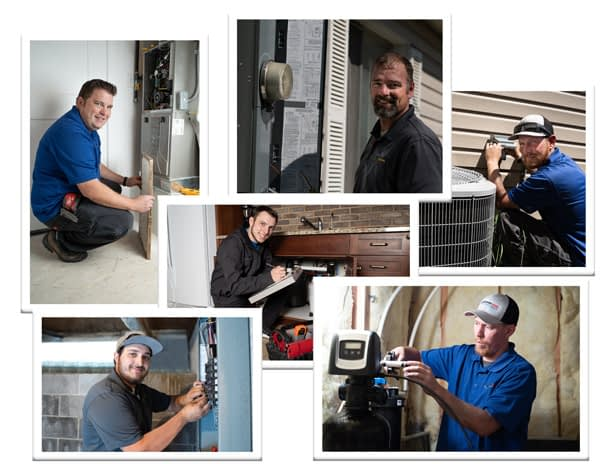 Utah's expert electricians, plumbers, HVAC technicians, and drain specialists.