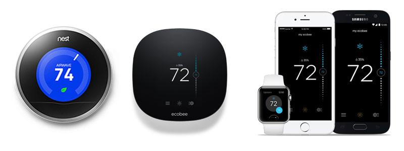 Utah Smart Thermostats Nest Brand
